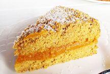 Zitronen-Aprikosen-Polentakuchen ,glutenfrei