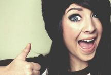 Zoe Sugg / Zoe is a british youtuber who is amazing :) / by Evan Sondgeroth