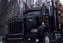 Trucks and model trucks