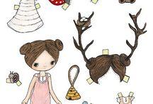 Paper Dolls / Paper doll love!