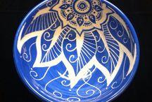 Pottery Sgrafitto