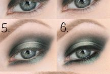Eye makeup tutorials and ideas