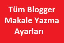 Blogger /  Blogger düzenleme kodları