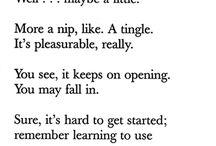 Literature + Poetry.