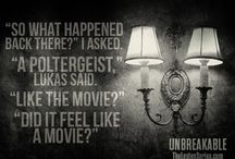 Paranormal Entities in Unbreakable
