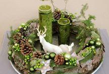 DIY und Selbermachen Adventskranz