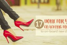 Coaching / Coaching tools, tips and resources for coaches in all niches. Whether you offer business coaching, health coaching, personal coaching, finance coaching or general life coaching.