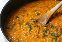Légumineuses au curry