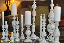 Candleholder idea & makeover