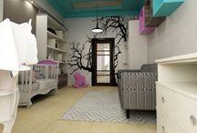 Квартира в районе Горпарка / Дизайн интерьера просторной квартиры в районе Горпарк разрабатывался для молодой, успешной семьи c детьми
