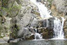 """Bivongi - Le Cascate - Italy / La cascata del Marmàrico (/mar'mariko/, in dialetto calabrese Cascata du Marmaricu) è la cascata più alta della Calabria e dell'Appennino meridionale, è alta 114 metri.[1] Si trova nell'alto corso della fiumara Stilaro, al vallone Folea. Il luogo circostante ha l'omonimo nome della cascata, al di sotto di essa si trova un piccolo laghetto. Si trova nel territorio del comune di Bivongi (RC) inserita tra le """"meraviglie italiane"""" del progetto omonimo."""
