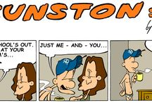 Comic Strip Gunston Street Comics