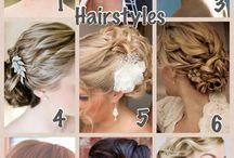 Wedding hairstyles - Shelley