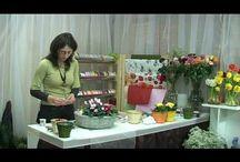 Virág csokor készítés