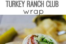 wrap lunch recipes