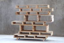 Møbler af paller mm. / Blandet lav selv møbler