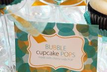 Bubbles themed Baby Shower