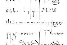 lettrine calligraphie