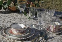 Table Settings / Fabulous table settings for weddings and parties