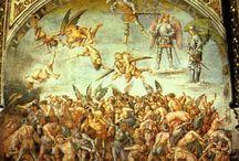 Hoge Renaissance ~ Luca Signorelli / ca. 1445 Cortona - 1523 Cortona. Waarschijnlijk leerling van Piero della Francesca in Arezzo.