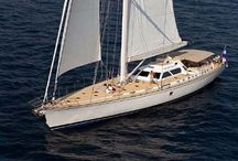 136' CONCORDE YACHTS SLOOP MIRABELLA lll / MIRABELLA lll large sailing sloop for sale from Concorde Yachts.