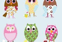 Owls / by Shandy Blackwell