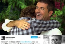 """Uncle Simon / A board that features Simon Cowell, aka """"Uncle Simon"""" creator of global boy band sensation, One Direction"""