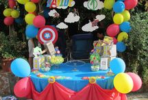 La festa da supereroi del piccolo Davide / Organizzazione e realizzazione di un party a tema supereroi!