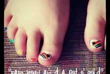 nails, nails, nails / by Karen Gracely