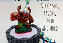 Skylanders party / by Lisa Blythe