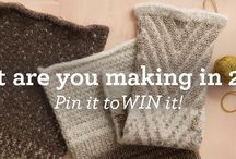 Your Yarn Style in 2015 / What are you knitting or crocheting in 2015? Pin the pattern for a chance to win the yarn to make it! Visit for details: http://offerpop.com/pinterest/inspiration/8708 / by Lion Brand