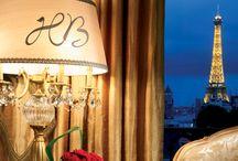 Hotel vue sur la tour Eiffel