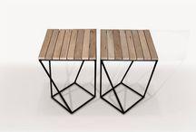 Muebles madera y metal