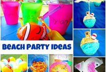 Beach Party / Throw a beach party while camping at beach or visiting the beach / by Loretta Sylvia