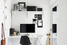Casas - Home Office {Casamentos & Casas}
