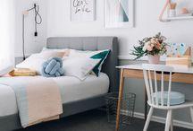Decoração: Quarto de Adolescente - Bedroom / Selecionei as mais lindas imagens de quarto de adolescente.  Visite www.thyaraporto.com/blog e confira ótimas dicas para decorar a sua casa.