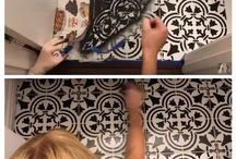 tile hack ideas