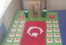 Okul Öncesi Etkinlik Paylaşımları / Preschool crafts sanat etkinliği okul öncesi eğitim
