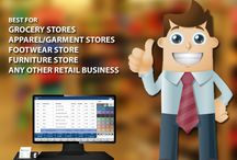 Point of Sale Retail Software / Retail software increases profitability with barcodes & touch screen entry for fast and accurate billing. Includes complete financial and inventory management.  Best for  Grocery Stores Apparel / Garment Stores Footwear Stores Furniture Store Any other Retail Business