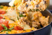 protien & vege casseroles