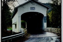 COVERED BRIDGES / FOLLOW THE BOARD AND FREELY PIN WITHOUT LIMITS. / by Kathy Plunk