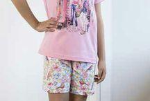 Pijamas/Camisolas niña Verano / ¿Tu #niña necesita renovar sus #pijamas? Aquí encontrarás los más frescos y cómodos para que descanse a gusto este #verano.