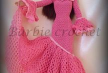Modern (crochet) Barbie