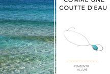 Colliers sautoirs / Colliers, pendentifs et sautoirs d'exception en pierres semi précieuses, cuir, métal ou perles. Des pièces rares ou de créateurs !