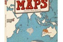 Maps / by Bettylynne Cleary-Moeller