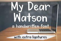Children's book fonts
