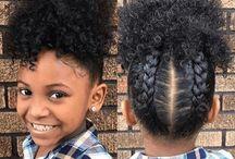 coiffure pour enfants