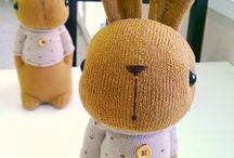 Sock stuffed animal crafts