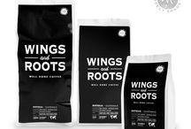 Wings and Roots Sturdy Roast Koffie / Koffie met iets goeds.  Stevige specialty coffee van 100% arabica uit Guatemala, het 'Land van de Eeuwige Lente'.Single estate, selective picking en op ambachtelijke wijze perfect op smaak geroosterd in onze eigen koffiebranderij.