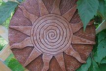 keramika - slunce